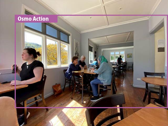 iPhone 11の超広角とOsmo Actionの画角比較