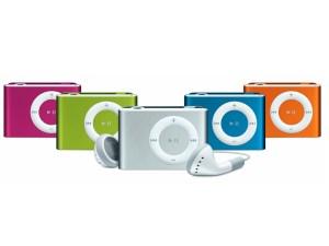 ipod shuffle coloris