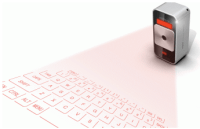 Magic Cube, clavier virtuel laser pour iPhone