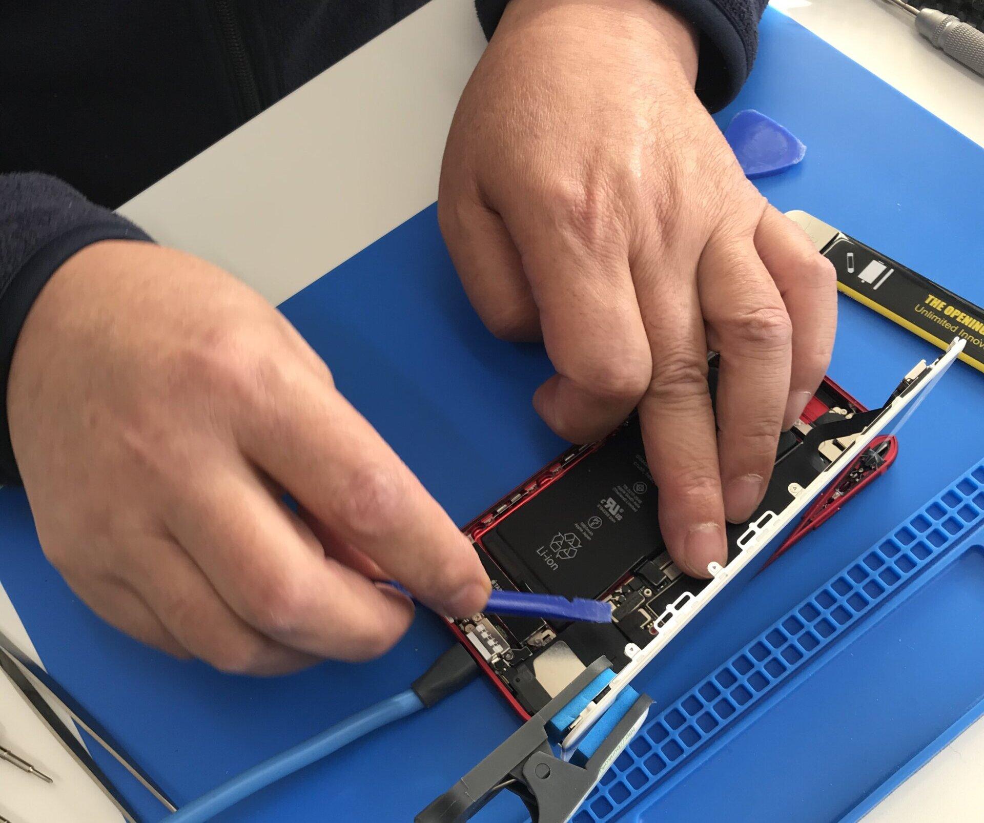 iPhone電池交換