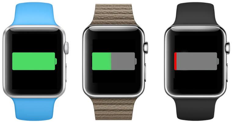 bateria Apple Watch