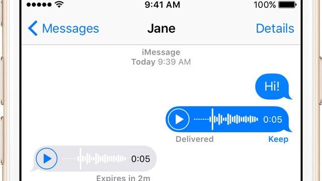 Cómo configurar el iPhone® para que borre las informativos de audio enviadas en Mensajes - copia