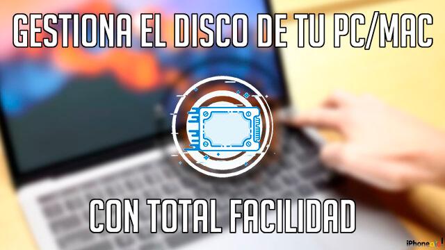 Portada - gestionar el disco de tu computadora