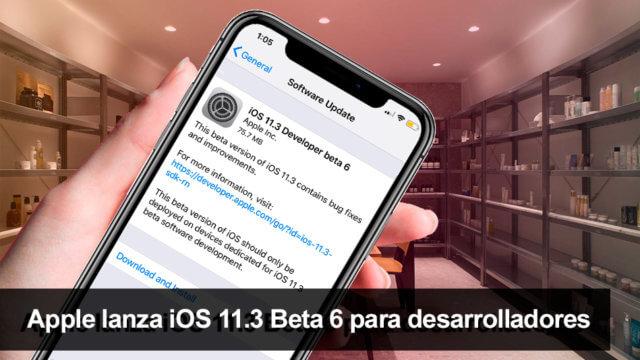 iOS 11.3 ©Beta 6