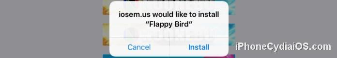 iOSEmus - iosemus would like to install Flappy Bird
