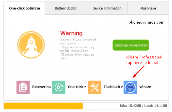 Install vShare Professional - install vShare Professional