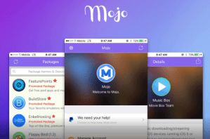 Download and Install Mojo Installer iOS 9 Without Jailbreak