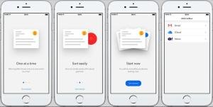 Morning Mail iOS app Review: Use gestures to clear inbox