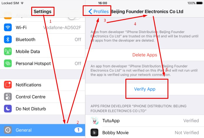 Download and Install Bobby Movie on iOS iPhone iPad without Jailbreak