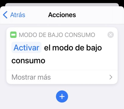 bajo consumo bateria iphone