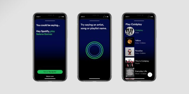 asistente Spotify iphone