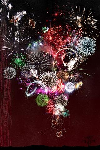 iphone 4 new year wallpapers