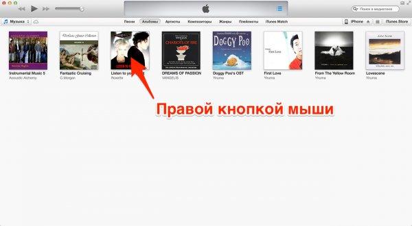 Dateiinformationen in iTunes