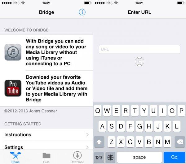 Podul de pe iPhone.