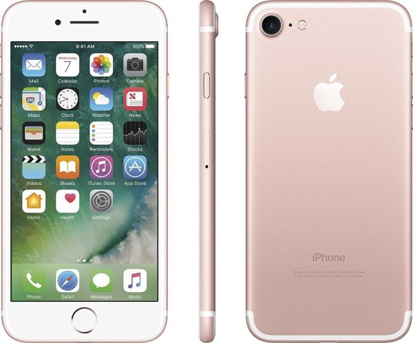 Price of iPhone 7 - 32 GB Rose Gold Variant at $720