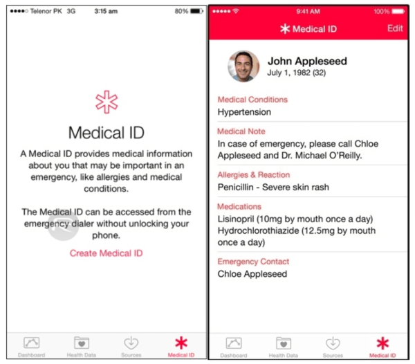 Apple Health Tips and Tricks - Create a Medical ID for Saving Your Life