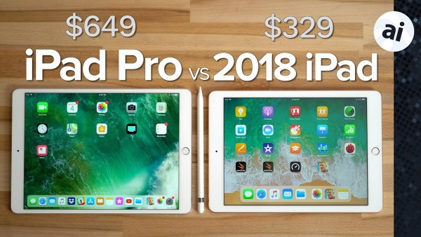 iPad 2018 vs iPad Pro - Price