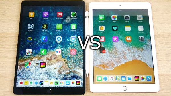 iPad 2018 vs iPad Pro - Software