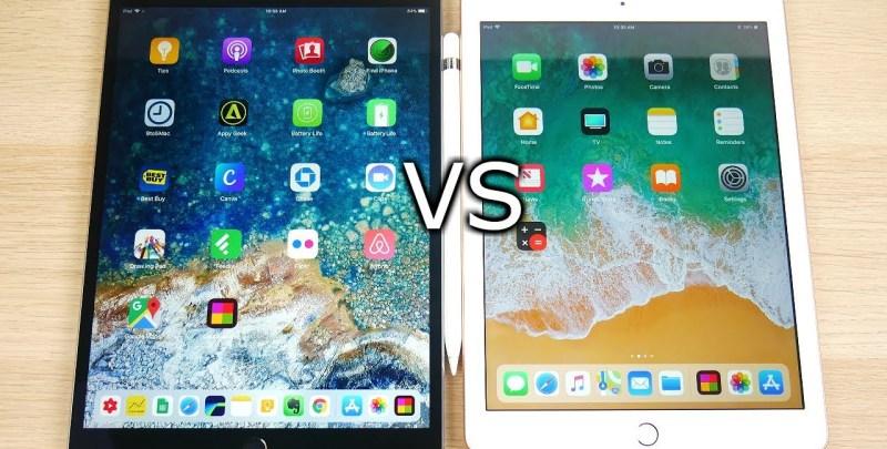 iPad 2018 vs iPad Pro - Software