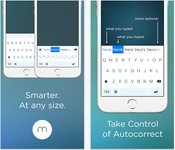Best iPhone Keyboard Apps - Minuum