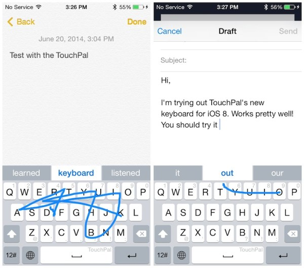 Best iPhone Keyboard Apps - Touchpal Keyboard