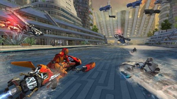 #6 in Our Best iOS Racing Games List – Riptide GP Renegade