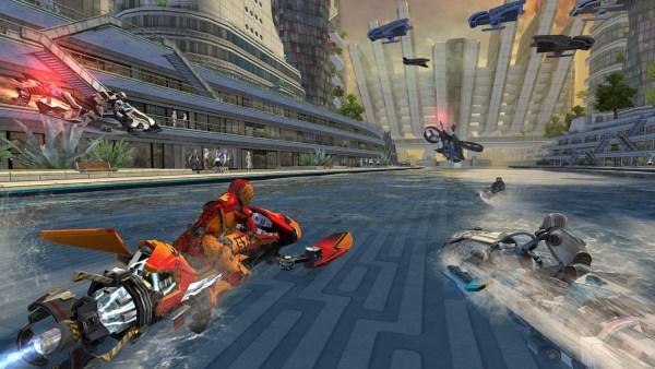#6 in Our Best iOS Racing Games List – Riptide GP Renegade