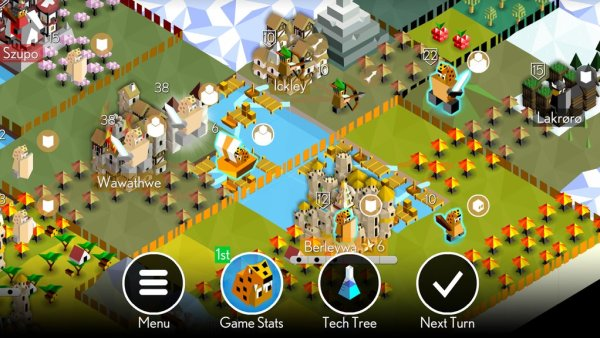 #1 in Our List of the Free Game Apps for iPhone – Battle of Polytopia