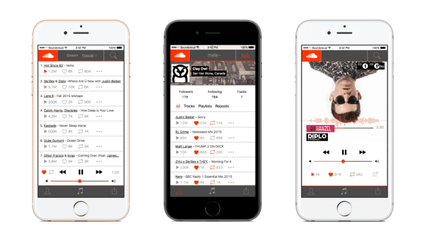 #7 in Our Best Free Music Apps - SoundCloud