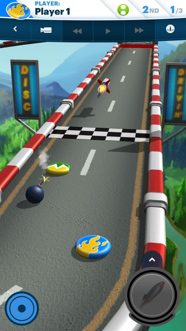 #7 in Our List of the Free Game Apps for iPhone – Disc Drivin' 2