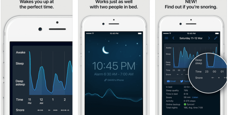 1. Sleep Cycle Alarm Clock – The Best Sleep Monitor App for iPhone Right Now