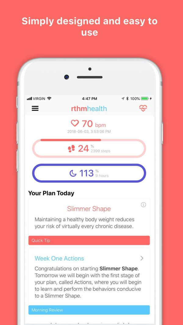 9. Rthm Health – Sleep Monitor App List