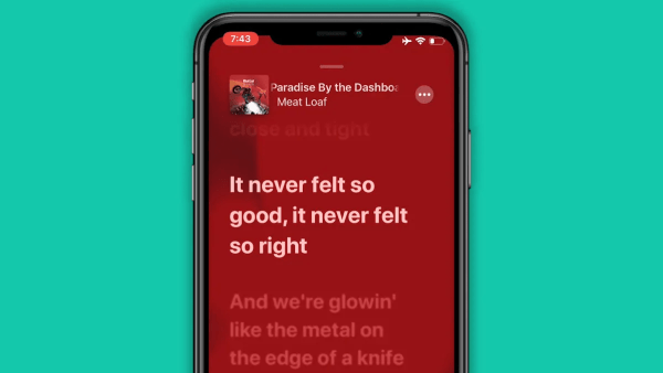 25. Enjoy Real-Time Lyrics on Apple Music