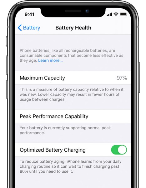 5. Reduce Battery Aging with Optimized Battery Charging