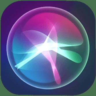 Siri icon, iOS 12