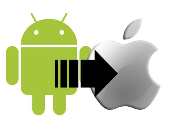 كيف تنقل جهات الاتصال من الأندرويد إلى iOS؟