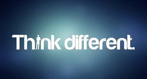 فكر بشكل مختلف