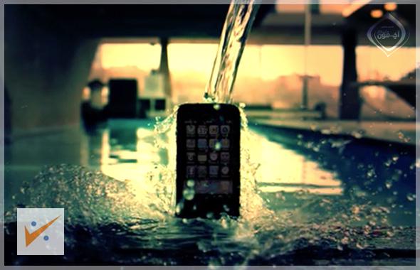 طلاء خفي لحماية الآي فون من السوائل