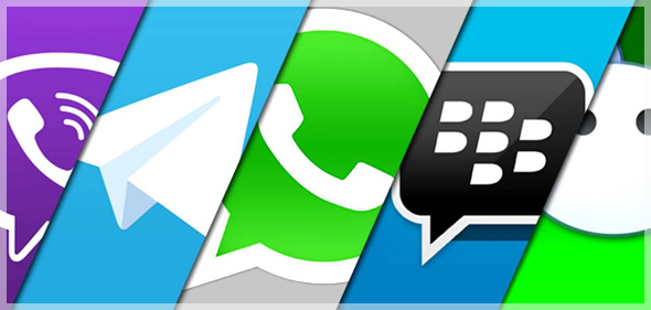 Viber-Whatsapp-Telegram