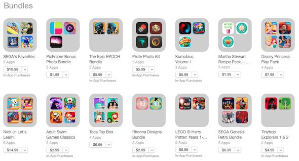 App Store Bundles