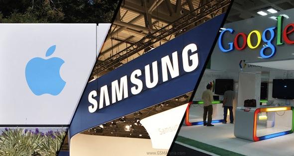 Apple Samsung Google