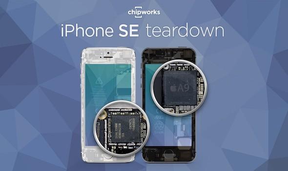 Teardown iPhone SE
