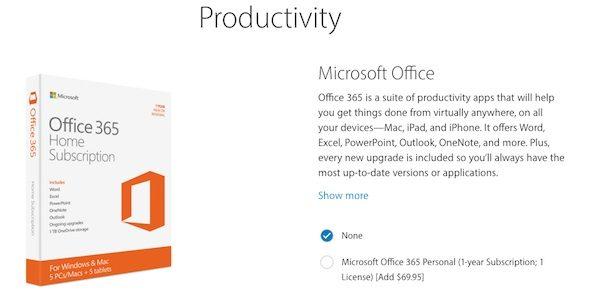 iPad Microsoft Office