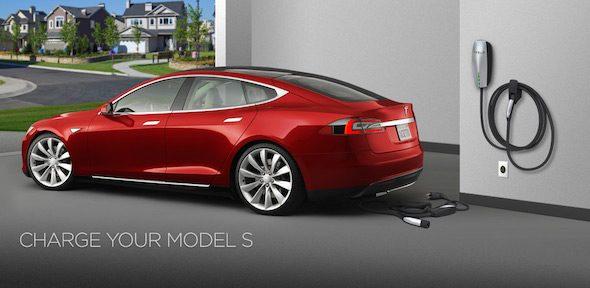 Charger Car Tesla