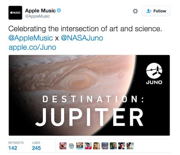 Apple Nasa Jupiter