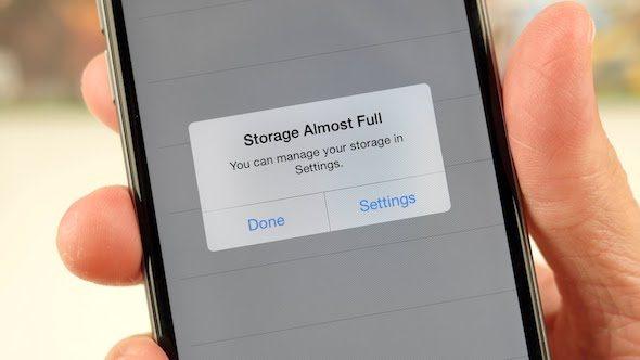 الملفات المؤقتة ونظام iOS