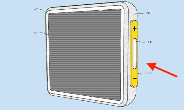 براءة اختراع جديدة لأبل: استبدال أزرار الصوت بتقنية بقوة اللمس