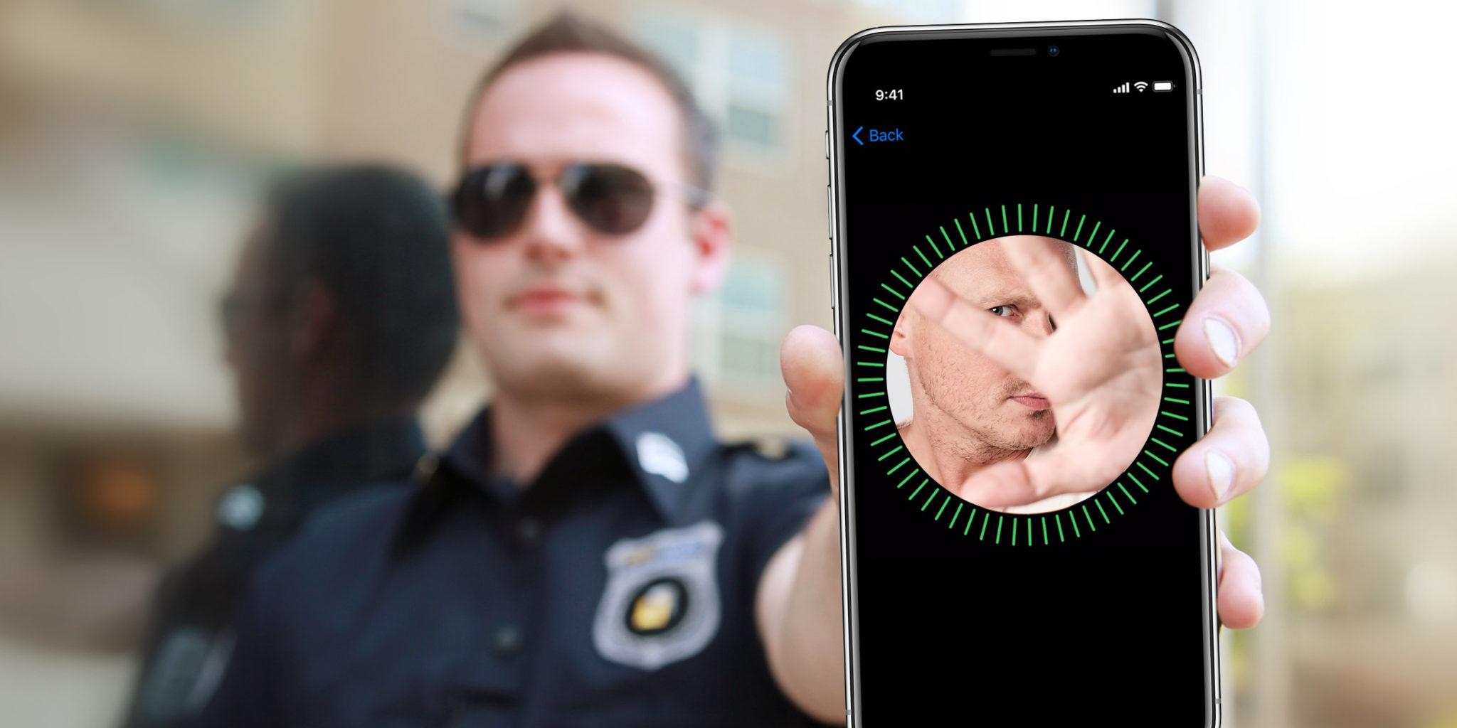 نصيحة للشرطة لا تنظر إلى شاشة الآي فون X آي فون إسلام