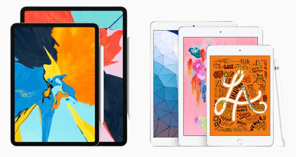 أبل تعلن عن iPad Air و iPad mini جديدين