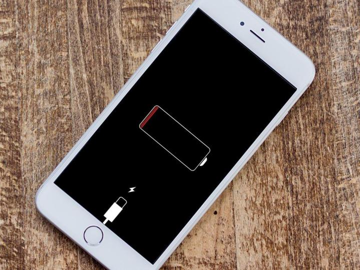 iphone battery empty